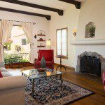 wood beam ceiling home for sale in glendale ca