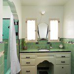 Malibu Tile Green and Black in Glendale Ca home