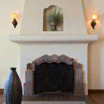 Batchelder feature fireplace in 1930 Glendale house