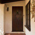 original solid wood door in glendale ca house for sale