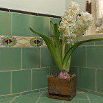vintage tile bath in glendale ca home