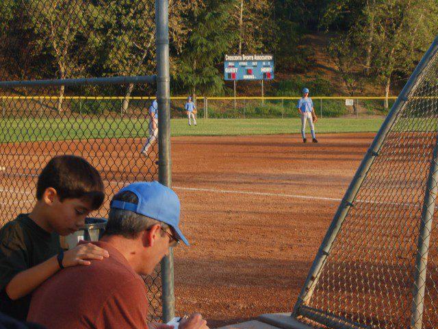 La Crescenta Life at the Baseball field