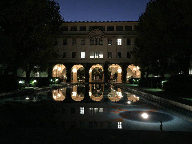 Pasadena, Cal Tech at night