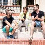Alek Bartrosouf, Alex Calleros and Kendyl Young