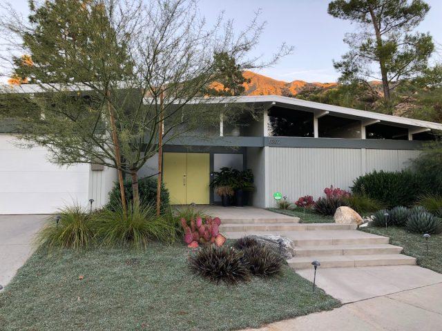 Mid Century Atrium Home
