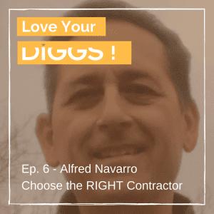 Alfred Navarro Podcast Graphic