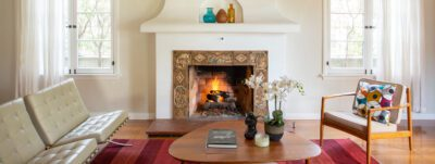 Batchelder Style Fireplace