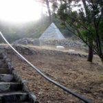 Pyramid at Brand Park Cemetery