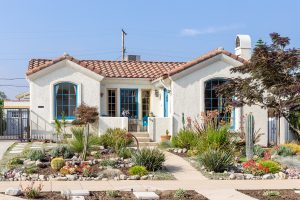 one leval spanish style home for sale