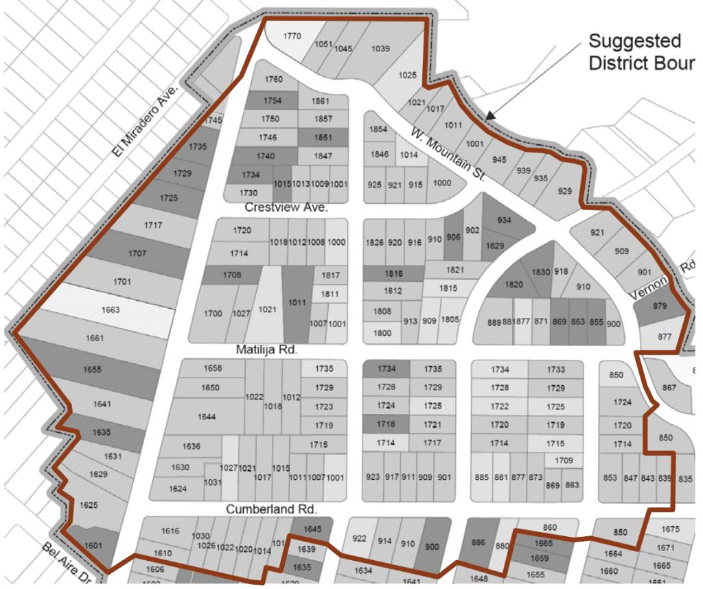Cumberland Heights Map
