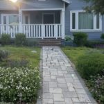 Cottage with front porch in La Crescenta
