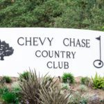 CHEVY CHASE Country Club Sign