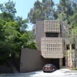 Lloyd Wright Home in Glendale Ca